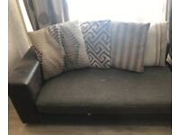 Unwanted corner Sofa and foot stall from DFS