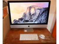 Apple Imac £1,199 ono, 27 inch Retina screen. 4K