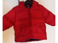 Boys Next padded winter coat 6-9 months