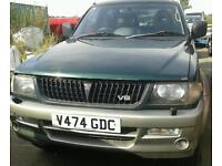 """MITSUBISHI CHALLENGER 4X4 3.0 PETROL MANUAL16"""" ALLOYS EXCELLENT ENGINE £750"""