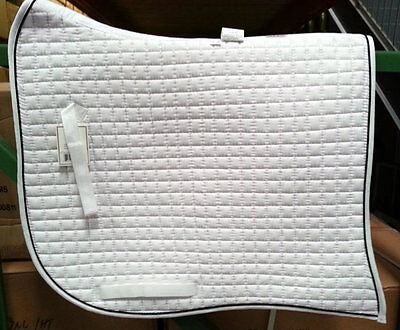 PRI PACIFIC RIM COTTON DRESSAGE SWALLOWTAIL SHOW SADDLE PAD (MORE COLORS)