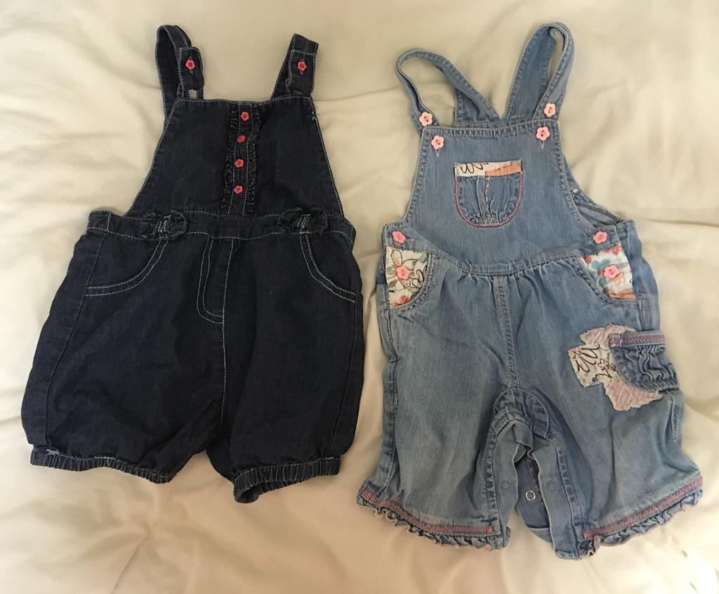 Baby dungarees - 12-18 months