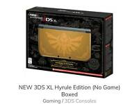New 3ds Hyrule edition