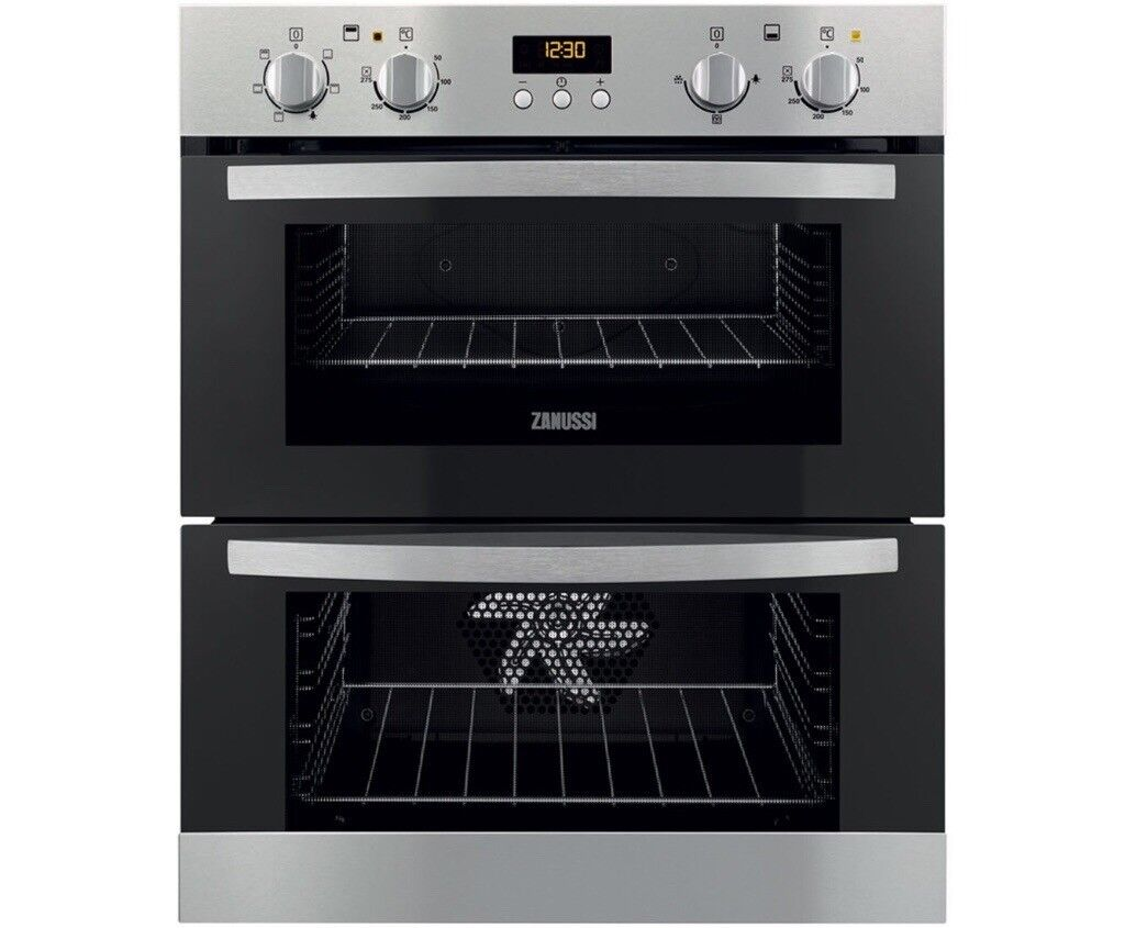 Zanussi ZOF35511XK Electric Double Oven in Stainless Steel