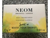 Neom Travel candle BNIB RRP £16