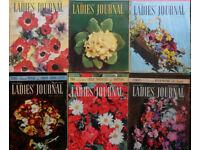 Bulk lot of vintage 1950s Ladies Journal Magazines