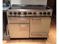 Falcon freestanding range cooker 110cm 5 area electric hob. Fan oven