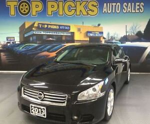 2013 Nissan Maxima 3.5 SV, LEATHER, SUNROOF, NAVIAGTION, ALLOY W