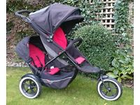 Phil & Teds Explorer - Double or Single buggy with lots of accessories