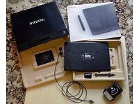 Wacom Intuos Pro Medium Graphics Tablet. Plus Wireless Accessory Kit (battery required).