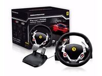 Ferrari F430 Force Feedback Racing Wheel (PS3/PS4/PC)