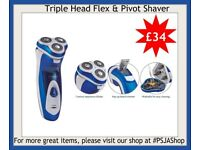 Triple Head Flex & Pivot Shaver