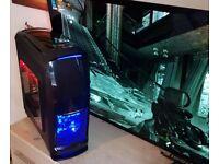 SuperFast Gaming PC , core i5 3.10GHz,8GB RAM,GTX 1060(3GB VRAM),256GB SSD+500GB HDD