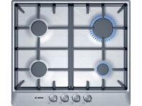 [Ex-Display] Bosch (4 Burner) Gas Hob - 60cm - Stainless Steel PCP615B90B