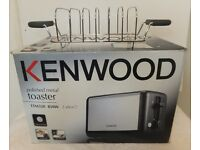 Kenwood Two slice toaster and rack - new with box