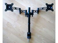 Duronic Dual monitor stand/VESA mounting arm