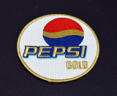 Pepsi Gold Team Patch - Custom Made Applique Patch, 4 Inch Round