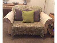 2 Seater Cream Sofa by Laura Ashley £165