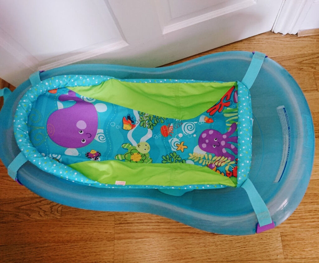 Fisher Price baby bath with hammock and bathtub seat | in Southport ...