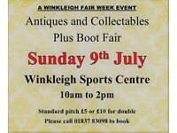 Antique and Collectors Fair plus Bumper Boot Fair DEVON
