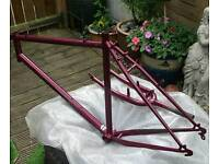 "Dawes 20"" frame and forks."