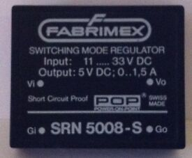 FABRIMEX SWITCHING MODE REGULATOR SRN 5008-S
