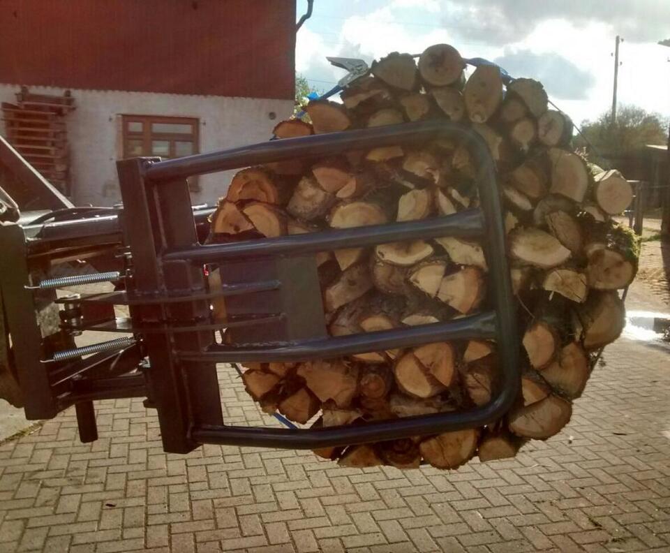 Zange für Brennholzbündel | Bündelgerät |Holzzange | Euroaufnahme in Schrozberg