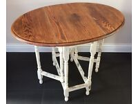 Drop leaf dining table - Shabby chic