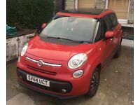Fiat 500L 1.6l Diesel 120HP manual. aftermarket removable towbar and most factory optional extras