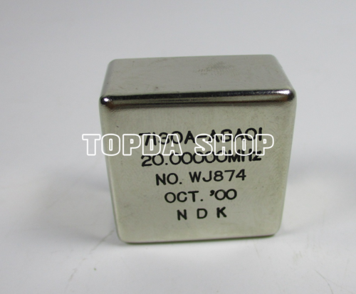 used 1pc  OCXO 7130A-ASAOI 20.00000MHZ