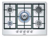 Stainless Steel Seimens 5 ring Gas Hob