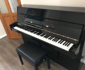 Yamaha B1 Upright Piano Polyester Black