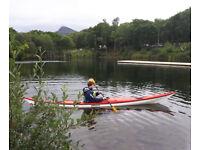 NDK ROMANY Sea Kayak + 2 piece paddle + spray deck