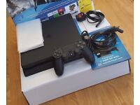 PS4 Slim Playstation 4 500GB Fully Boxed FIXED PRICE With Receipt and 9 Months Warranty with Sony