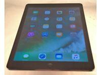 Apple iPad Air 1st Gen. A1475 MF020LL/A. WIFI+4G. A7 1.4GHz. 1GB RAM. 16GB SSD. 9.7 Space Gray