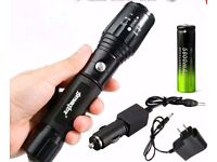 Torch With Rechargeable Battery