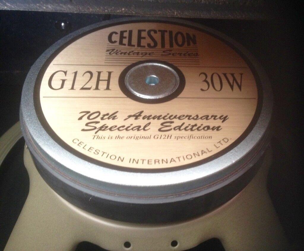 210e209ddd SOLD ; NO LONGER AVAILABLE Custom Cabinet 1X12 with Celestion G12H 30 Watt