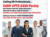 EARN UPTO £450 PER DAY, GET TRAINED IN SAP HR - Human Resources