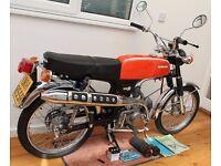 Honda ss50. Moped... Sports Moped