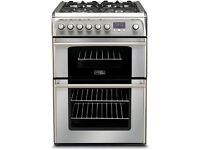 New Hotpoint CH60DPXFS Cannon Dual Fuel Double Oven Stainless Steel
