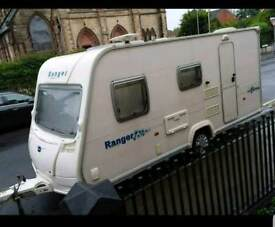 Bailey Ranger 470/4 2007. 4 birth caravan. Lightweight