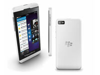 Used, MUST GO TODAY 16GB Blackberry z10 andriod mobile with usb charging cable on o2 for sale  Grangemouth, Falkirk