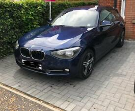 BMW 1 series, 2litre engine 2014 with sat-nav
