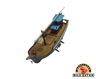 "Genuine, brand new Turk Model wooden ship kit: the ""Taka"" Black Sea Fishing Boat"