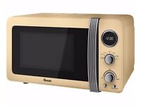Brand New - Special Offer - Swan Retro Digital Microwave Blue Cream Red Pink Green Black Lime