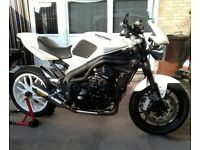 Triumph speed triple 1050 white
