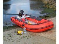 3.8 metre infatable boat