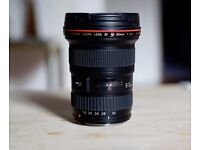 Canon EF 16-35mm F2.8 II L USM Wide Angle Lens, Faulty , Spares/ Repairs, Water Damage