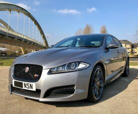 -MOT 2019 & FSH- JAGUAR XF 3.0 V6 S PORTFOLIO 275bhp TURBO SPORT TOP SPEC -LOW MILEAGE-