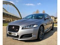 -NEW 2019 MOT & FSH- JAGUAR XF 3.0 V6 S PORTFOLIO 275bhp TURBO SPORT TOP SPEC -ONLY 61k MILES-